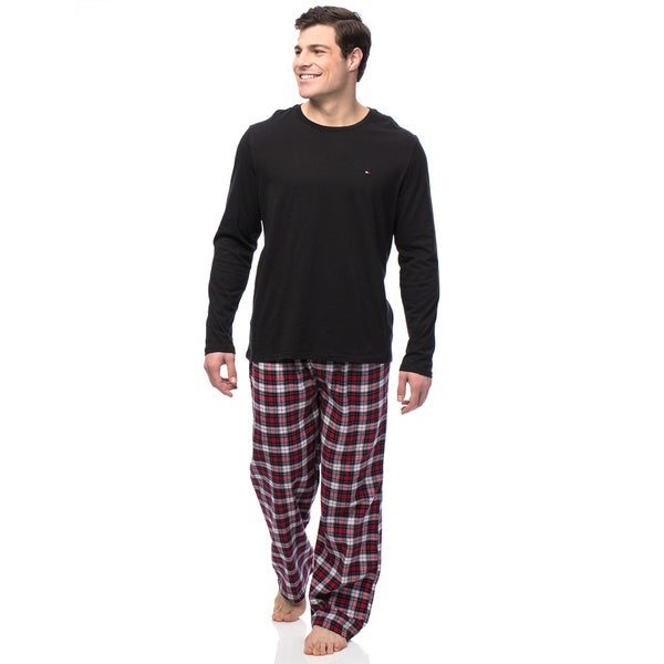 Tommy Hilfiger Men's Garnet Boxed Flannel Sleep Set
