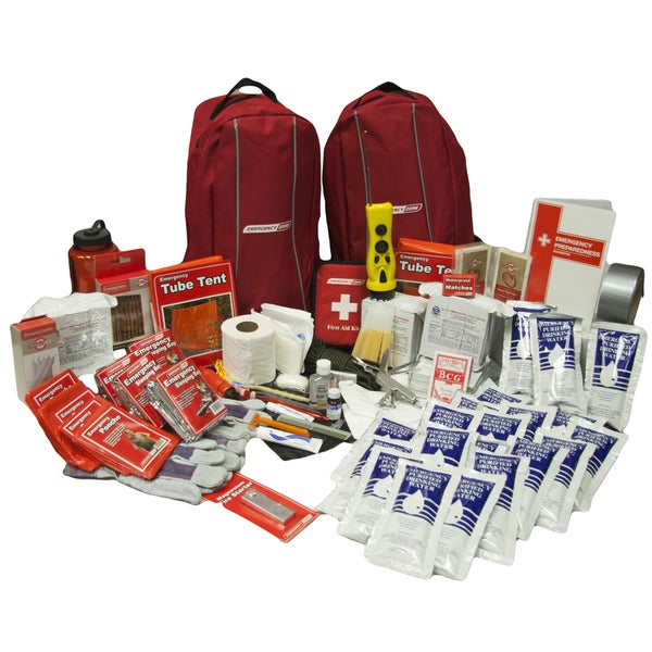 Survivor 4-person Emergency Survival Kit and Bug-out Bag