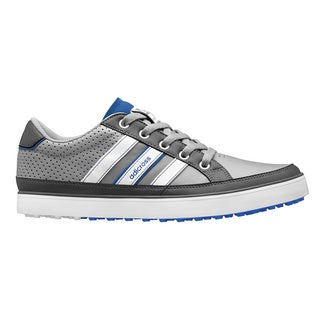 Adidas Men's Adicross IV Q47046 Grey/ White/ Blue Golf Shoe