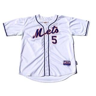 New York Mets no. 5 David Wright White Cool Base Stitched MLB Jersey