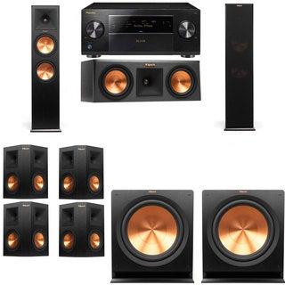 Pioneer Elite SC-85 7.2-channel Receiver and Klipsch Tower/ Center/ Subwoofers/ Surround 9-speaker System