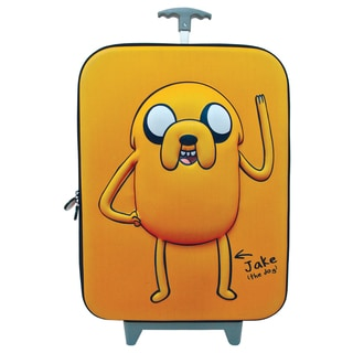Adventure Time Jake 3D 20-inch Carry-on Upright Suitcase