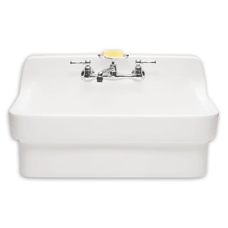 American Standard Country Porcelain 9062.008.020 White Utility Sink