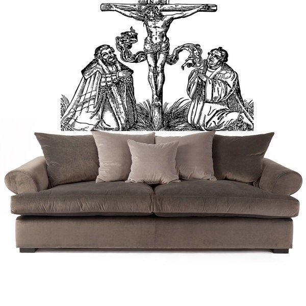 Jesus Christ Sticker Wall Art