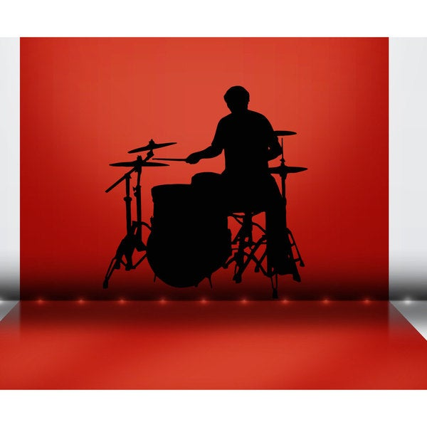 Drums Sticker Wall Art