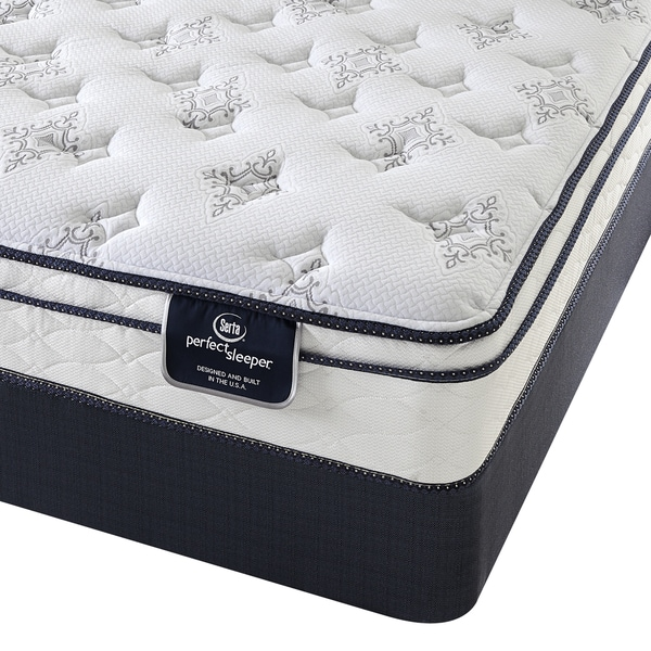 Serta Perfect Sleeper Incite Euro Top King Size Mattress Set Overstock Shopping Great Deals