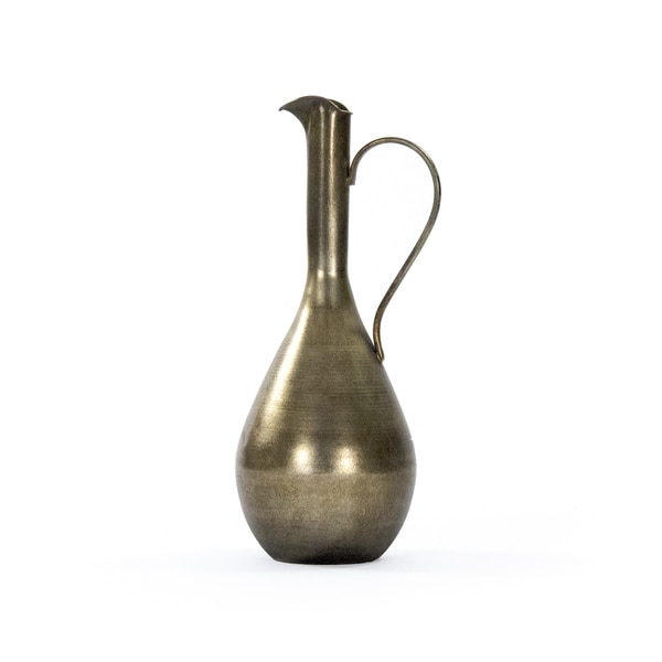 Greek Jug with Long Spout and Pulled Handle