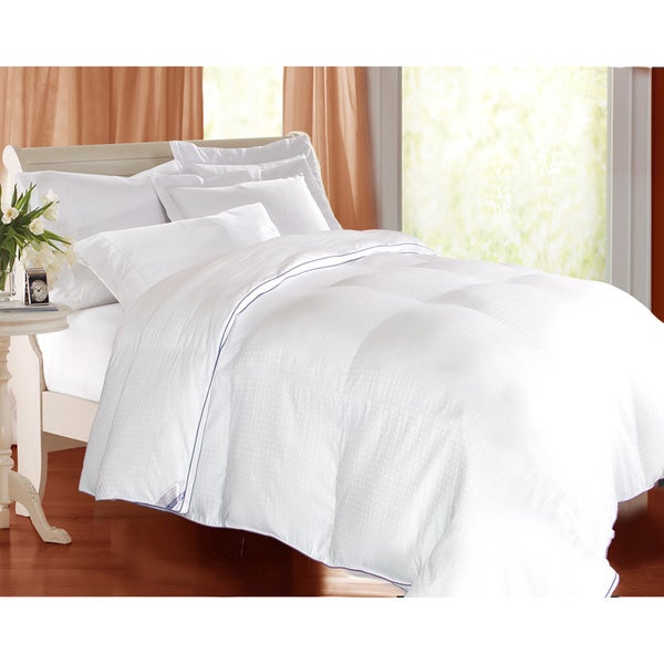 Kathy Ireland 1000 Thread Count Swiss Dot Down Alternative Comforter
