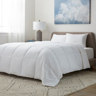 Supreme 350 Thread Count Cotton Damask Down Alternative Comforter