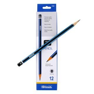 Bazic #2B Premium Wood Pencils