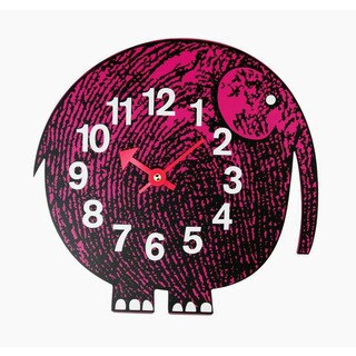 Hans Andersen Home Elephant Zoo Timer Wall Clock
