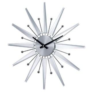 Hans Andersen Home Mirrored Starburst Clock