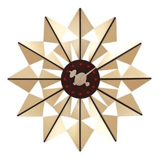 Telechron Gold Butterfly Clock