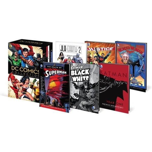 DC Comics Set Book and DVD Set: Wonder Woman Gods and Mortals / Justice League Origin Vol. 1 / JLA Earth 2 / Batman : Year On... 15445792