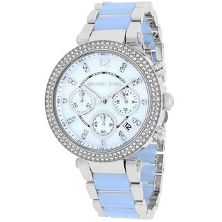 Michael Kors Women's MK6138 Parker Round Two-tone Bracelet Watch