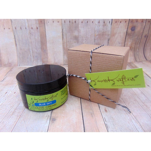 Karess Krafters Blue Sky Olive Moisturizing Cream for All Skin Types