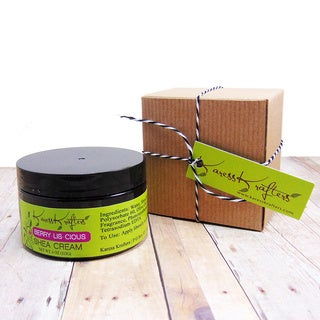 Karess Krafters Berry-lis-cious Natural Moisturizer Shea Cream for All Skin Types