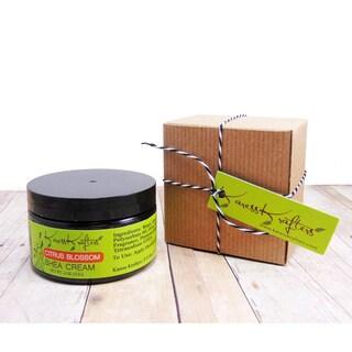 Karess Krafters Citrus Blossom Natural Moisturizer Shea Cream for All Skin Types