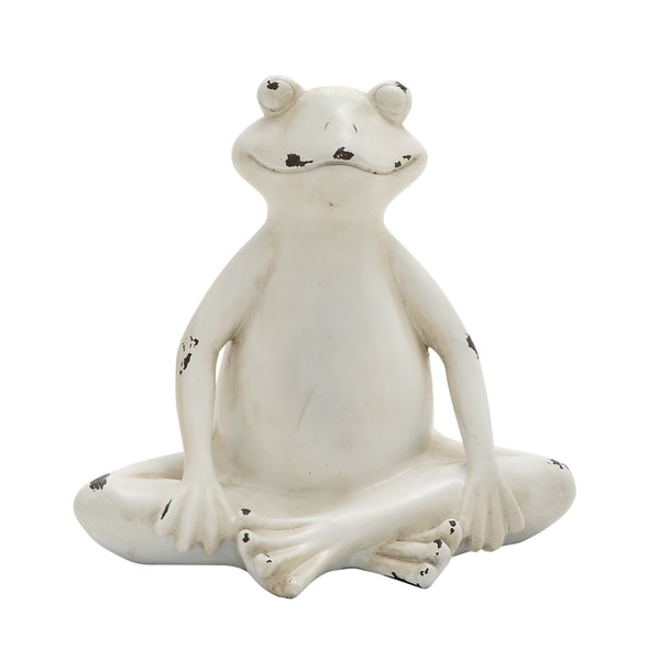 Amazingly Styled Sitting Frog