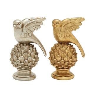 Fabulously Designed Bird Decor (Set of 2)