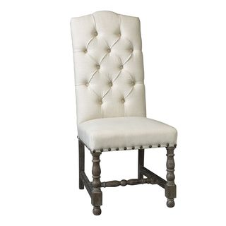 Somette Warrenton Natural Hand Tufted Dining Room Chair (Set of 2)