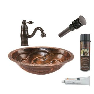 Premier Copper Products LO19FBDDB Faucet Package with Single Handle