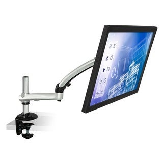 Mount-it! 12 to 22-inch Full Motion Extendable Spring Arm Single Monitor Desk Mount