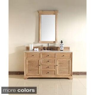 James Martin 60-inch Savannah Single Bath Vanity Cabinet