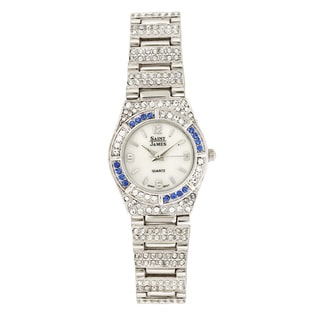 Saint James Women's Austrian Swarovski Crystal Luxury Watch