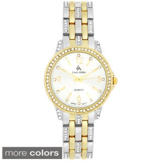 Louis Arden Women's Bright Crystal Fashion Watch
