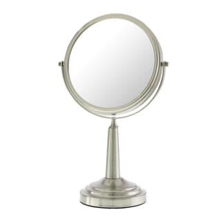Danielle Mirror Vanity Nickel Plated 10x Mirror