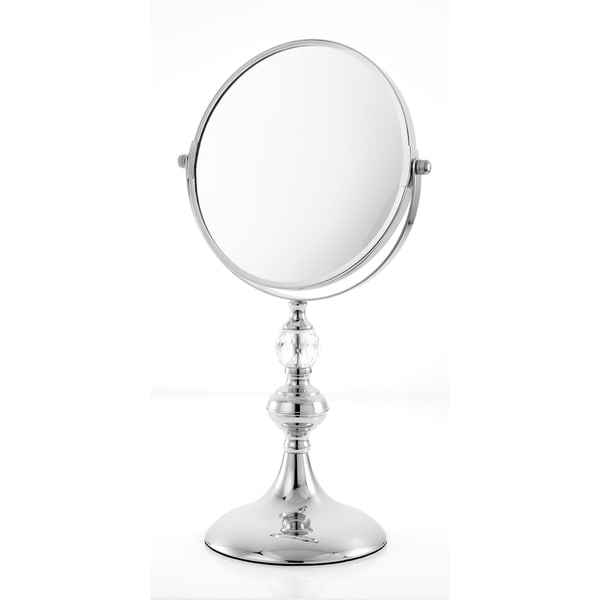 Danielle Mirror Vanity Chrome 5x Magnification Mirror