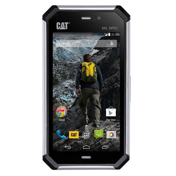 CAT S50 8GB Unlocked GSM 4G LTE Military Grade + IP67 Quad-Core Phone - Black