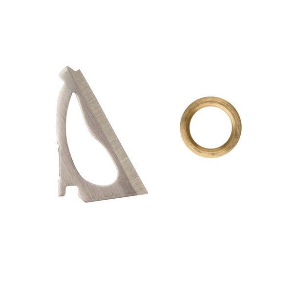 Wac'em 4 Blade Replacement Blades and Rings 75 and 100 Grain
