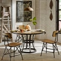 Ink+Ivy Cooper Round Concrete Dining Table