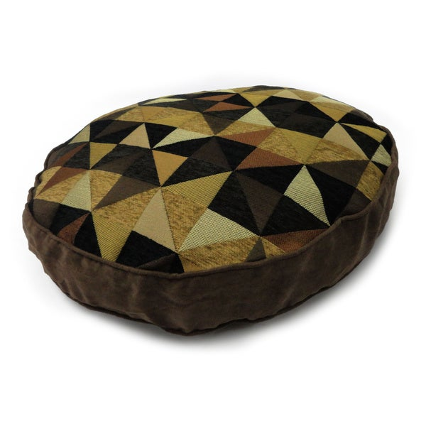 Windmill Black/ Tan Large Pet Bed