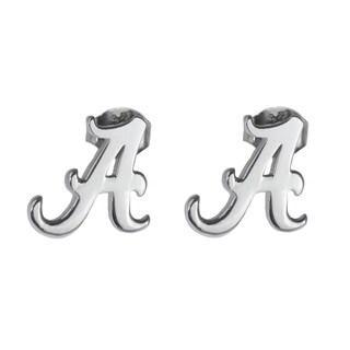 Alabama Sterling Silver Post Earrings