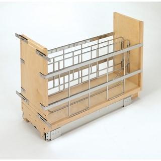 Rev-A-Shelf 447-BCBBSC-5C 5-inch Tray Divider/ Foil and Wrap Organizer Soft-Close