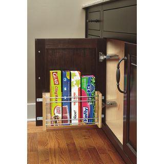 Rev-A-Shelf 4WFR-18-1 Medium Door Mount Foil Rack