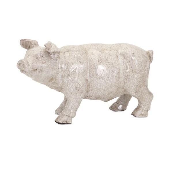 Wilber Ceramic Pig Statuary