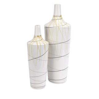 Curasso Retro Finish Vases (Set of 2)