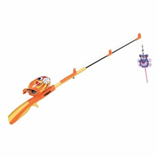 Catfisher Kitty Rod n Reel and Kitty Kicker for Cats