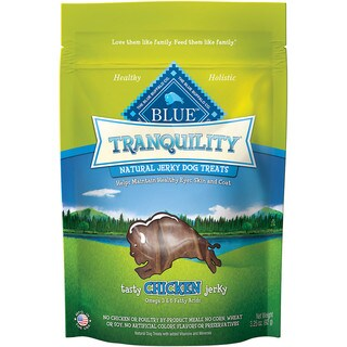 Blue Buffalo Tranquility Natural Chicken Jerky Treat