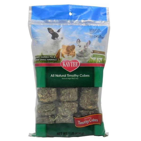 Kaytee All-natural 1-pound Timothy Hay Cubes