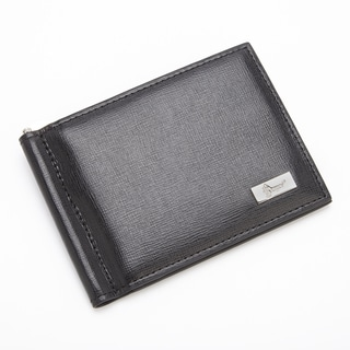 Royce RFID Blocking Saffiano Leather Money Clip/ Wallet