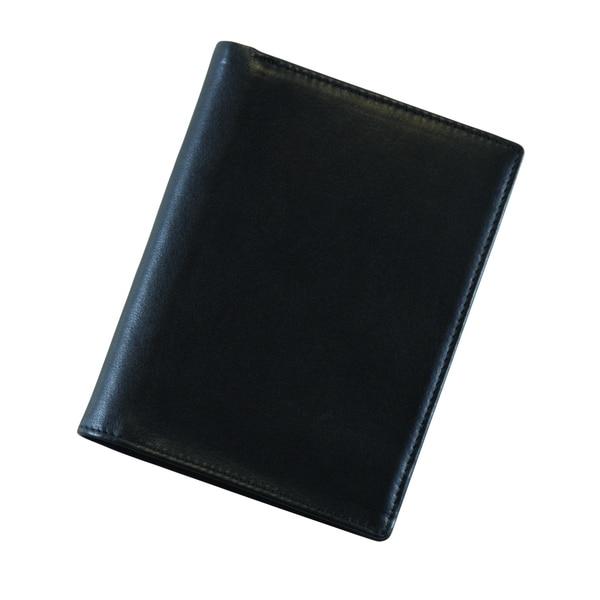 Royce European Passport Travel Genuine Leather Wallet