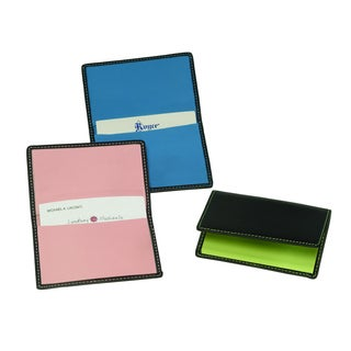 Royce Genuine Leather Business Card Case