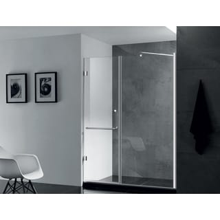 Paragon Bath PRIMA Premium 3/8-inch Thick Clear Tempered Glass 59 x 72-inch Frameless Shower Door