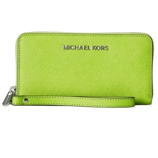 MICHAEL Michael Kors Jet Set Travel Wallet - Pear