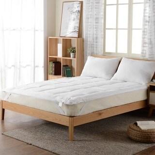 Cheer Collection Down Alternative Mattress Topper/ Fiber Bed
